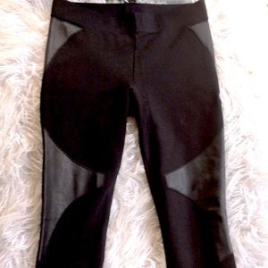 🇺🇸 Witchery Leather Trim Leggings 8